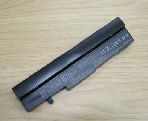6 cells 5200mAh LI-ion Battery for Asus Eee PC EEEPC 1005 1005H 1005HA 1001 1001HA 1001P 1001PX 1101HA Black