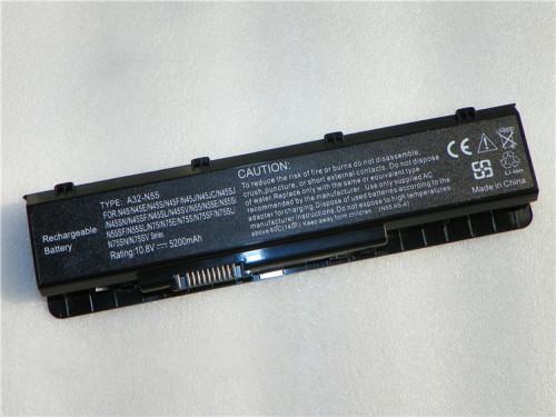 New Battery for Asus N45E N45S N45SF N55E N55S N55SF N75E N75S N75SF A32-N55,free shipping