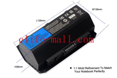 15V 88WH Korea Cell A42-G750 Battery for ASUS ROG G750 G750J G750JH G750JM G750JS G750JW G750JX G750JZ Series 5900mAh