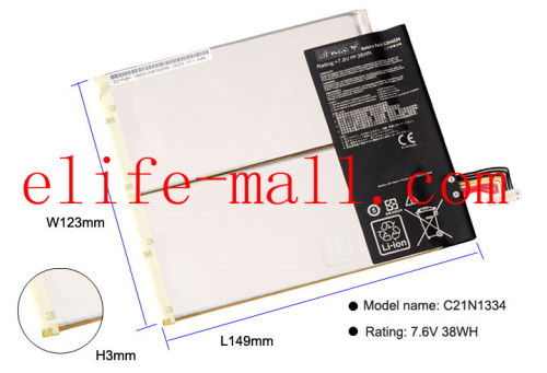 C21N1334 Laptop Battery For ASUS Transformer Book T200TA T200T T200 1A 1K 200TA-C1-BL Tablet PC 7.6V 38WH