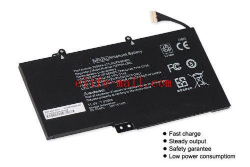 Laptop Battery NP03XL for HP Pavilion X360 13-A010DX TPN-Q146 TPN-Q147 TPN-Q148 HSTNN-LB6L 760944-421 15-U010DX