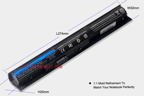 14.8V 41WH New VI04 VIO4 Laptop Battery For HP ProBook 440/450 G2 Series 756743-001 756745-001 756744-001 756478-421