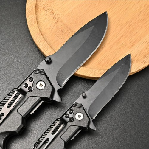 Vastar Folding Knife Tactical Survival Knives Hunting Camping Edc Multi High Hardness 3Cr13 Military Survival Outdoor Knife