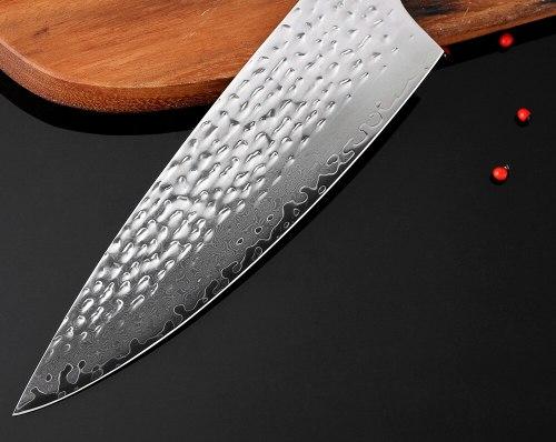 8  Chef Knife Japanese Damascus Kitchen Knife Damascus VG10 67 Layer Stainless Steel Knives Razor Sharp Micarta Handle New