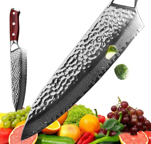 NEW 67 Layer Japanese Damascus Steel Damascus Chef Knife Handmade Forged 7.5 Inch VG-10 Blade Kitchen Cleaver Knife Tool