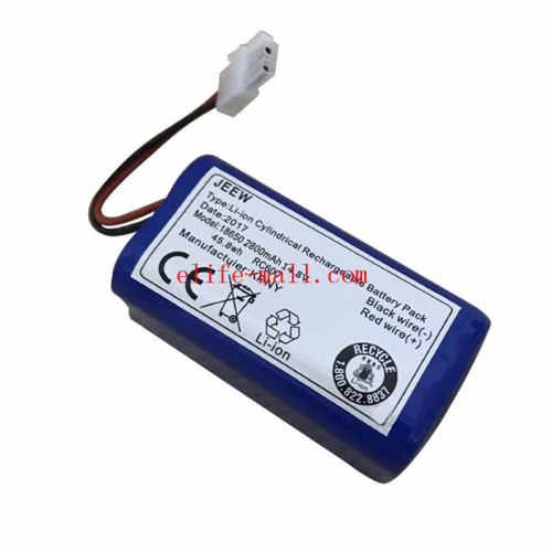 14.8V 2800mAh robot Vacuum Cleaner Battery Pack replacement for chuwi ilife v7 V7S Pro Robotic Sweeper