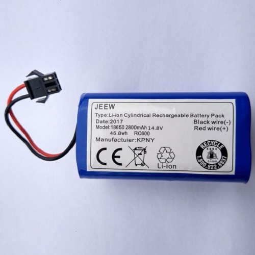 Replacement for 11.1V 2600MAH Ecovacs CEN330 332 CCR333 Vacuum Cleaner Battery
