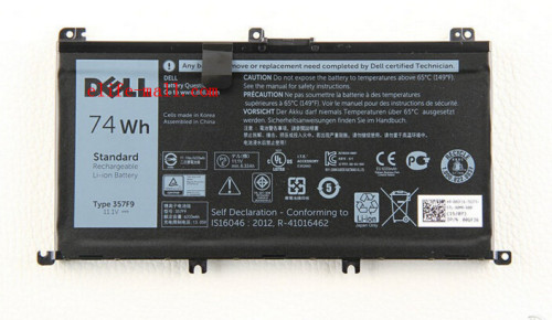 11.1V 74WH 357F9 Battery For Dell Inspiron 15- 7000 7559 7557 7566 7567 5576 INS15PD-1548B INS15PD-1748B INS15PD-1848B