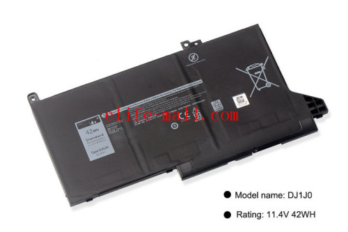 New DJ1J0 Laptop Battery For DELL Latitude 12 7000 7280 7380 7480 Series Tablet PC PGFX4 ONFOH DJ1JO 11.4V 42WH