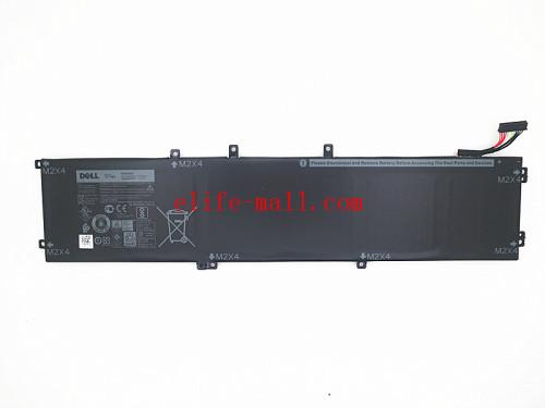 97W laptop battery for 05041C,5D91C,5XJ28,6GTPY, H5H20,XPS 15-9560-D1745 Precision M5520