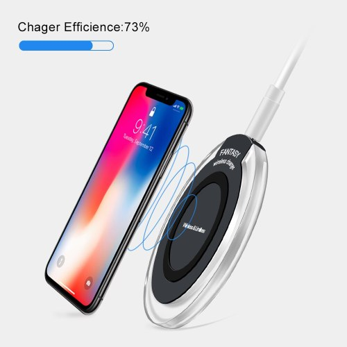 Wireless Charger for iPhone X XS MAX XR 8 Plus Fast Charging for Samsung S10 S8 S9 Plus Note 9 8 Wirelss USB Charger Pad