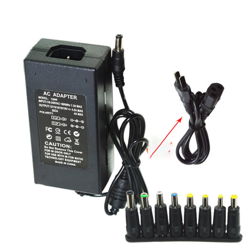 DC 12V/15V/16V/18V/19V/20V/24V 4-5A 96W Laptop AC Universal Power Adapter Charger for ASUS DELL Lenovo Sony Toshiba Laptop