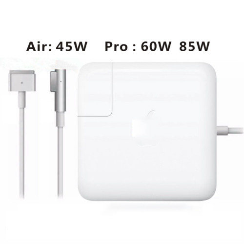 45W 60W 85W Adapter MS 1 L-Tip MS 2 T-Tip Laptop power Supply For Apple For MacbooK Air Pro 11 13  15 17  Adapter Charger