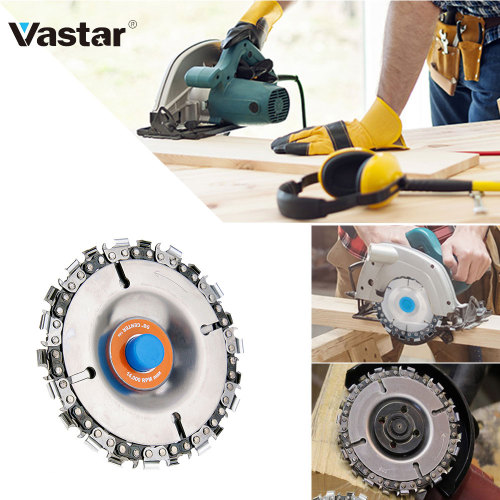 4 Inch 22 Tooth Fine Cutting Set Carbide 100/115 Angle Grinder Disc Wheel Chain Circular Saw Blade Cutter Tool Cordless