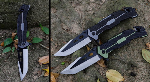 Folding blade knife High hardness blade camping knife outdoor stainless steel knives Outdoor Survival Hunting Knife