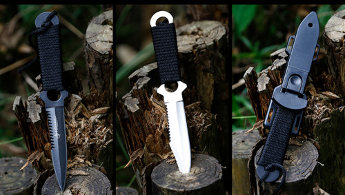Portable Tactical Knife Survival Paratroopers knife blade Stainless Steel Diving Straight knife Outdoor Camping Pocket Knife EDC