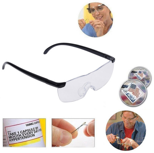 250 Degree Presbyopic Glasses Magnifiers Magnifying Eyewear Spectacles Eye Protection See 160% More Better