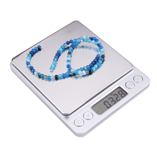 LCD Precision Jewelry Scale Digital Kitchen Scale Mini Pocket Stainless Steel Electronic Balance Weight Gold Grams Scales
