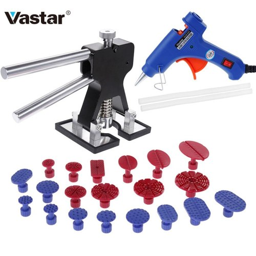 Paintless Dent Repair Tools Car Dent Repair Puller Removing Dents Dent Removal Hand Tool Set Choose Hot Melt Glue Gun