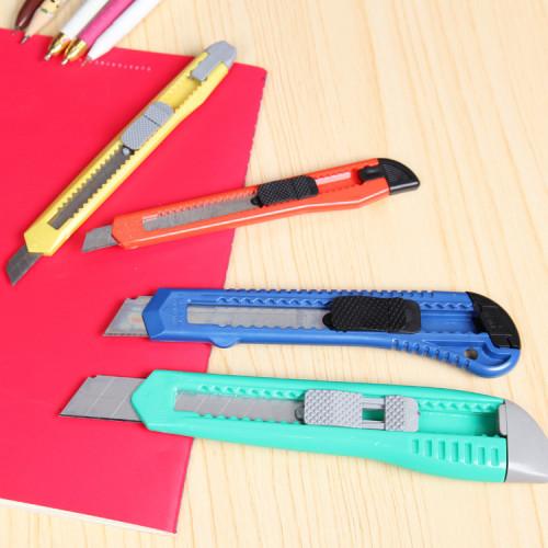 Snap Off Snap-off Blade Cutter Knife Paper Student Office Stationery Art Box slide Handicraft Sharp Package Open Craft Tool