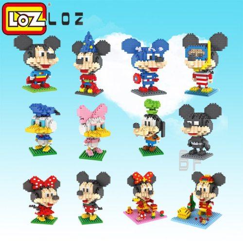 LOZ   diamond block plastic cute building blocks toys bricks educational   Figures Toys  for Children