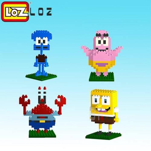 LOZ  Blocks Diamond  Building Blocks toys Action Figure 3D Bricks Early Education Toys Cute Style Gift toys for children