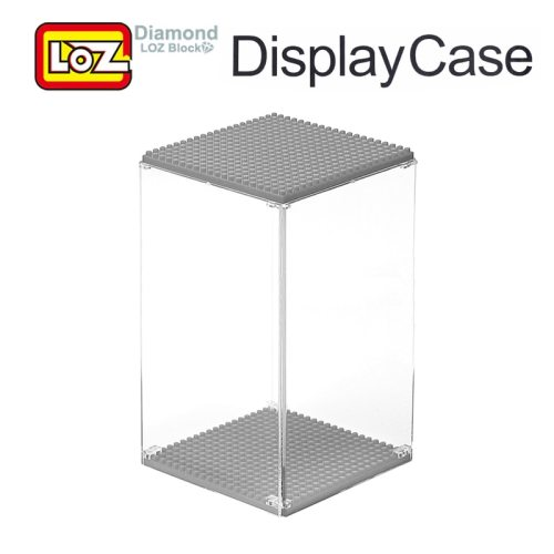 LOZ Display Case Multicolor Box For Diamond Building Blocks Bigger Transparent Display Box For LOZ Toys Offical Authorized 9920