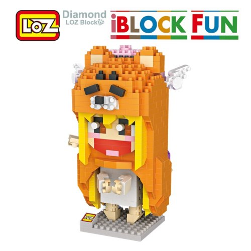 LOZ Umaru Himouto Building Diamond Blocks Model Toys 650Pcs Action Figure Toy For Children Age 14+ Offical Authorized Gift