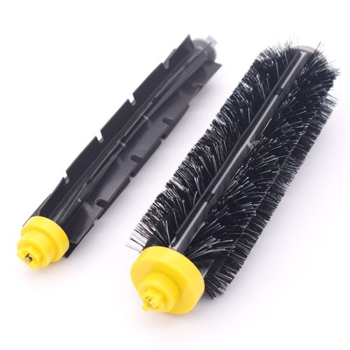 1 set of bristles and flexible brushes for iRobot Roomba 600 700 series 650 630 660 770 780 790 vacuum cleaner replacement kit
