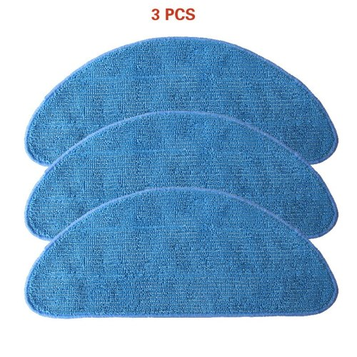 3 pieces of mop cloth for Ilife v3S / v3L / v3s pro / v5 / v5s / v5s pro / x5 sweeping robot parts replacement
