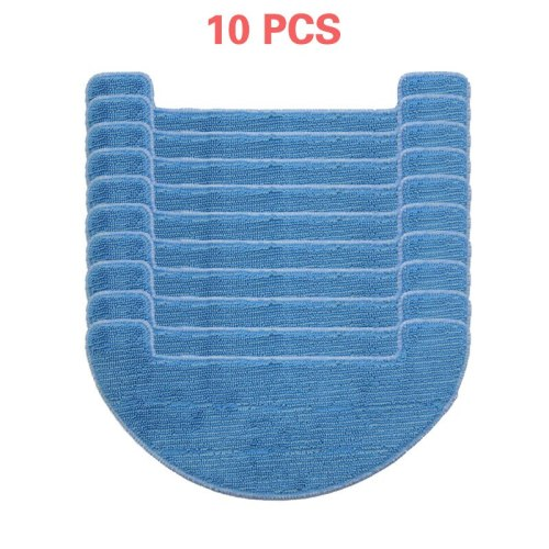 10 pieces per pack, clean and wipe the mop for Ilife V80, V8S, X800 robot vacuum cleaner parts