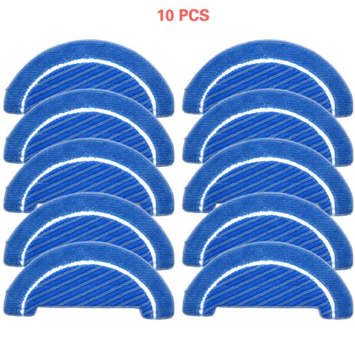 New 5pcs/10pcs  Fabric mop inserts for Conga 1090 series robot vacuum cleaner accessories fabric mop insert kit