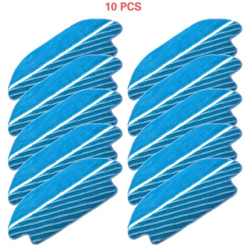 New 5pcs/10pcs  Fabric mop inserts for Conga 3490  series robot vacuum cleaner accessories fabric mop insert kit