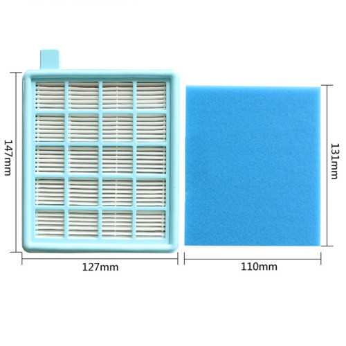 1 piece Replacement of Philips vacuum cleaner Hepa filter FC8470 FC8471 FC8475 FC8630 FC8645 FC9320 FC9322 Vacuum cleaning