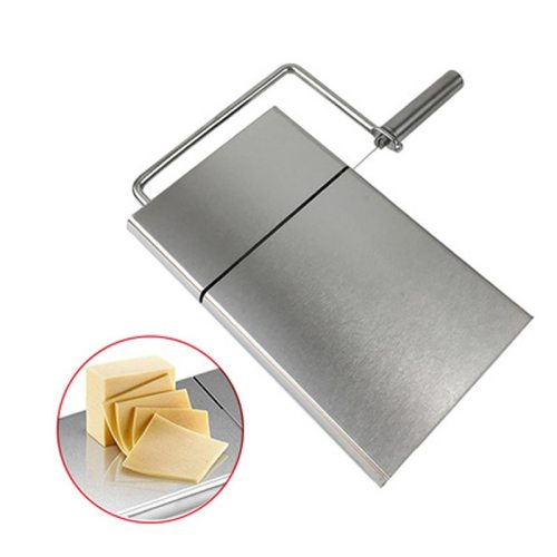 High Quality Stainless Steel Cheese Butter Bread Slicer Tools Easy to Clean Cutting Table Board Kitchen Supplies Kitchen Tools