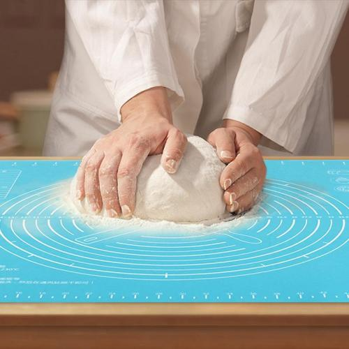Non-Stick Silicone Baking Gasket Pizza Dough Pastry Kitchen Gadget Cooking Tools Tableware DIY Baking Tray Accessories