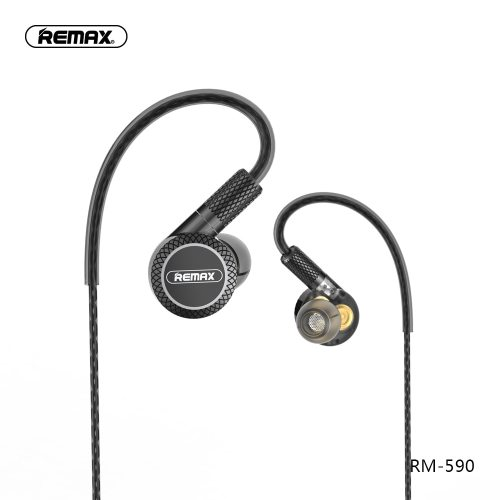 Remax Triple moving coil drive units Noise Reduction hifi earphone with mic 3.5mm aux for phone xiaomi fone de ouvido kulaklik