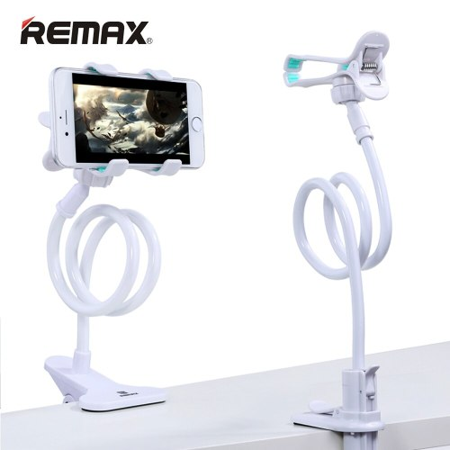 Remax 360 Rotation Flexible Long Arm Mobile Phone Stand Lazy People Bed Desktop Table Mount Holder for iphone for samsung huawei