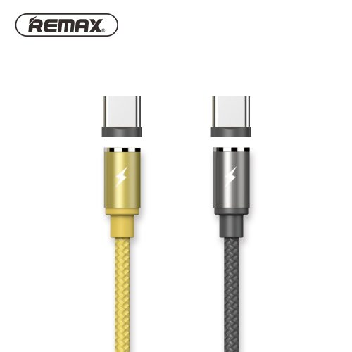 Remax 360 Magnetic type c Cable with LED Light  for Type-C USB C Cable fast Charger for Samsung S8 HUAWEI mate 10  P10 Xiaomi 6