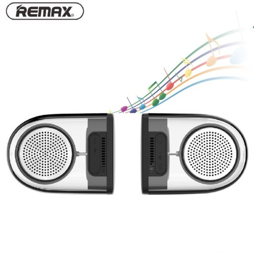 REMAX 4.2 Bluetooth Magnetic Pair Speakers Portable Wireless Stereo bluetooth-speaker AUX MP3 Player Mini Speaker for PC Phone
