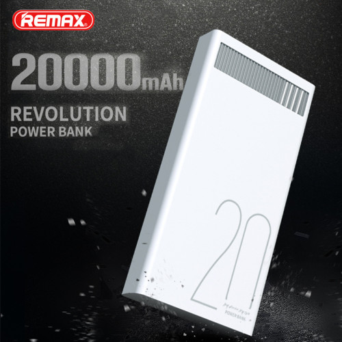 Remax Quick Charge power-bank 20000 mah Dual USB Fast Charging Portable External Batteries Charger For Mobile Phones Poverbank