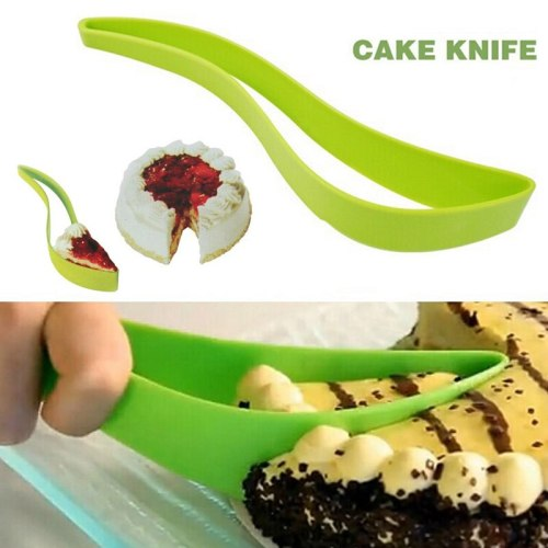 1PCS Novel cake pie slicer practical small cake slicer sheet cutter cerver bread knife kitchen gadget cooking cutting tools