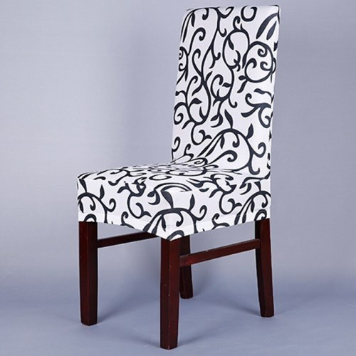 1 Piece Fit Soft Stretch Spandex Chair Covers Pattern For Dining wedding Chair Cover seat covers for computer chairs