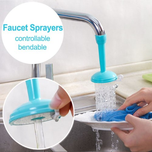 Water Saving Kitchen Faucet Sprayers Adjustable water tap Filter Nozzle Swivel Spout Faucet Bathroom Accessories