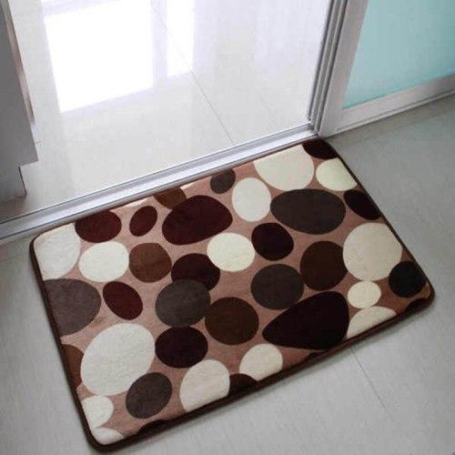 Coral Fleece bath mats bathroom antislip douche matten toilet bath mats badematte for bathroom set