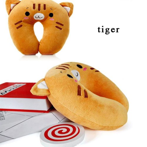 Home cute cartoon U shaped travel pillow massage foam pillows for sleep neck pillow for baby neck protect plush body pillow