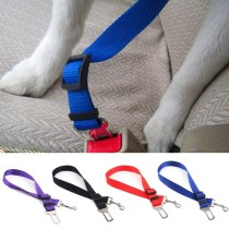 New Qualified Vehicle Car Seat Belt Seatbelt Harness collar Lead Clip for Pet Cat Dog Safety