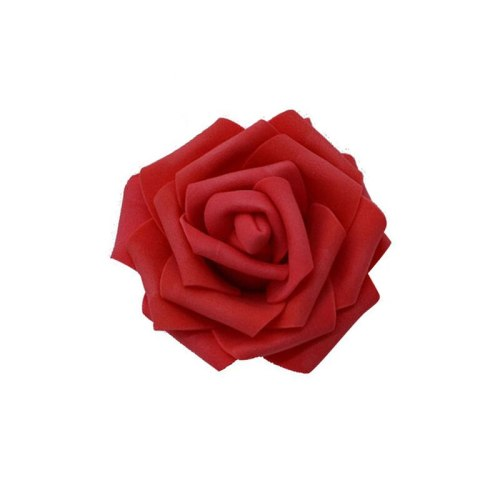 30Pcs/lot 8cm Big Artificial Flower Heads PE Foam Rose for Wedding Party Home Decoration DIY Wreath Flower Ball Wedding Favors