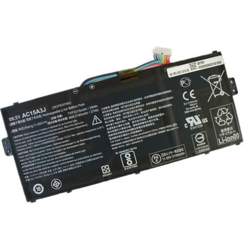 10.8V 36wh 3490mAh better cells Battery AC15A3J AC15A8J KT.00303.017 For ACER Chromebook 11 C735 CB3-131 C738T CB5-132T
