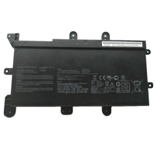 14.4V 71Wh better cells A42N1713 Laptop Battery for Asus G753 Series Laptop A42L85H
